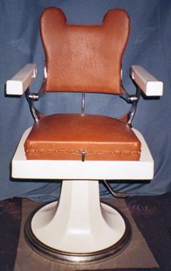 Ancien fauteuil coiffeur barbier 400 76570 pavilly seine maritime - Fauteuil coiffeur ancien ...