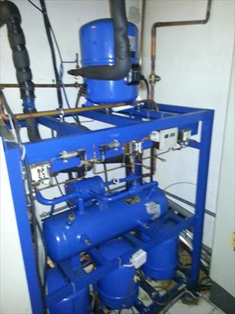 Moteur Groupe Froid Chambre Froide Linde 67000