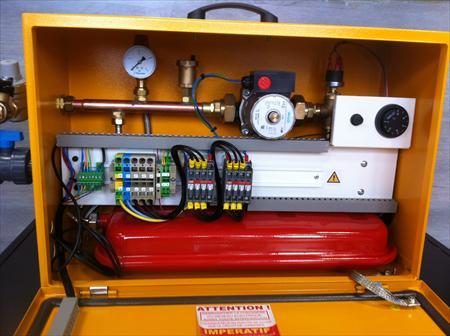 Chaudiere electrique chauffe dalle 250 38300 for Mise en chauffe plancher chauffant avant carrelage