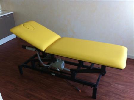 Vends table massage electrique deux plans helytis m dical - Table de massage electrique occasion ...