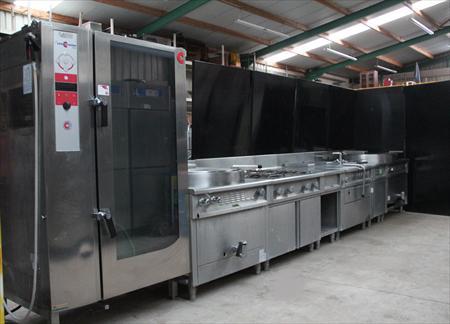 Ligne de cuisson grande cuisine cometto 17000 62770 for Achat materiel de cuisine professionnel