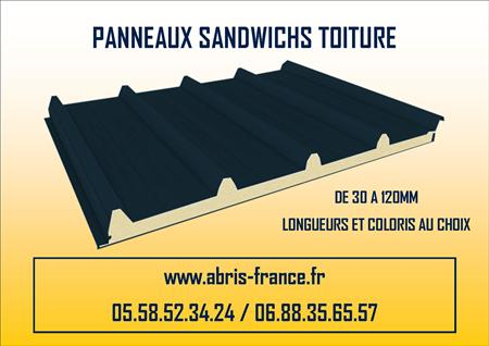 panneaux isolants sandwich toiture bardage facade en. Black Bedroom Furniture Sets. Home Design Ideas