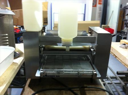 gyrocrepe crepe machine prix po le cuisine inox. Black Bedroom Furniture Sets. Home Design Ideas