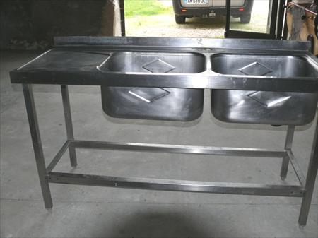 widw plonge inox 2 bacs 33000 bordeaux gironde aquitaine annonces achat vente mat riel. Black Bedroom Furniture Sets. Home Design Ideas