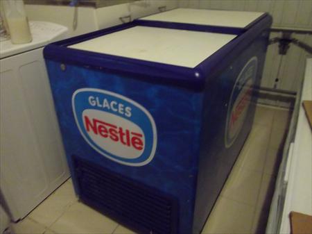 congelateur a glaces bac nestle 250 81370 st. Black Bedroom Furniture Sets. Home Design Ideas