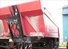 Semi-remorque routière: Benne basculante de chantier et de TP