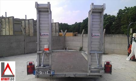 Remorques utilitaires plateau en france belgique pays - Location utilitaire limoges ...