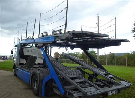 camion remorque porte voitures daf cf75 01160 saint. Black Bedroom Furniture Sets. Home Design Ideas