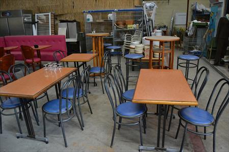 Mobilier de salle et terrasse tables chaises etc en basse normandie occasio - Mobilier terrasse occasion ...