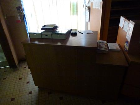 Comptoir meuble de caisse 130 22210 le cambout for Meuble comptoir caisse