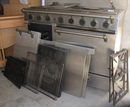 Cuisiniere piano godin 1900 34200 sete h rault languedoc roussillon - Piano gaz professionnel ...