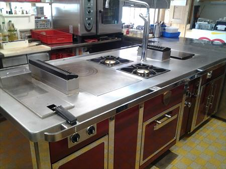 Pianos de cuisson lectriques professionnel en france for Piano cuisine occasion