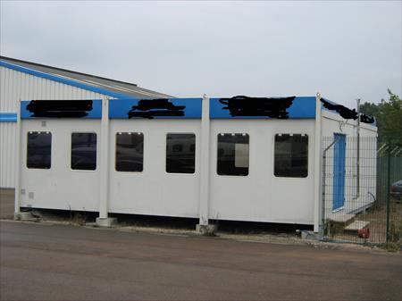 cabane de chantier bungalow type algeco 10000. Black Bedroom Furniture Sets. Home Design Ideas