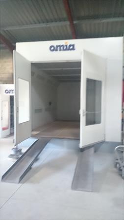 cabine de peinture omia alizea va eq materiels omia 14500 13800 istres bouches du. Black Bedroom Furniture Sets. Home Design Ideas