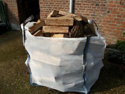 big bag pour stockage des bois de chauffage 11 4845 jalhay nord pas de calais. Black Bedroom Furniture Sets. Home Design Ideas