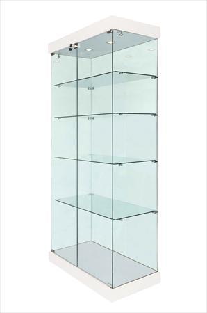 vitrine d 39 exposition en verre es1001 vitrines direct 389 62140 bouin plumoison pas de. Black Bedroom Furniture Sets. Home Design Ideas