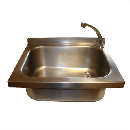 Lave mains en inox commande f morale 220 85160 st - Commande femorale pour lave main ...