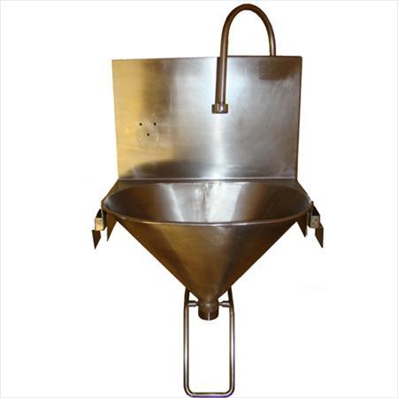 Lave mains inox commande f morale 200 85160 st - Commande femorale pour lave main ...