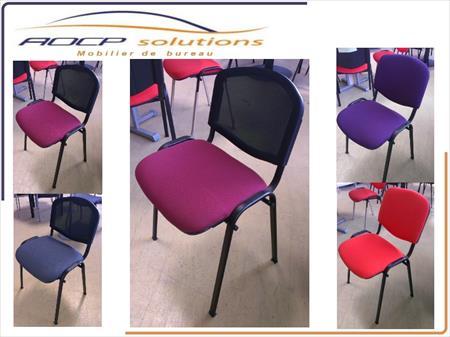 mobilier de bureau chaises visiteurs 4 pieds 16 59135 wallers nord nord pas de calais. Black Bedroom Furniture Sets. Home Design Ideas