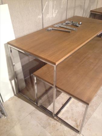Tables pr sentoir pour magasin de pr t porter mango - Portant vetement professionnel occasion ...