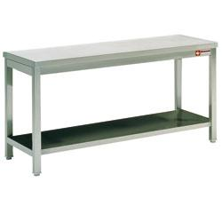 table de travail inox 1m20 yaka france equipement 274 69600 oullins rhone rhone alpes. Black Bedroom Furniture Sets. Home Design Ideas
