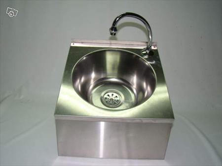 Lave main inox commande f morale 120 56100 - Commande femorale pour lave main ...
