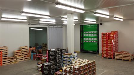 Chambres froides froid positif en france belgique pays - Temperature chambre froide fruits et legumes ...