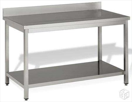 Table inox plonge evier 249 95240 cormeille for Table evier inox professionnel