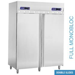 armoire frigorifique et cong lation ventil e 2x 70 3587. Black Bedroom Furniture Sets. Home Design Ideas