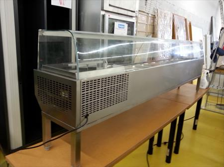 Vitrine froid pour cuisine resto inox occasion 600 for Table cuisine inox