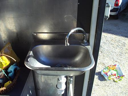 Lave mains inox commande f morale 80 13016 - Commande femorale pour lave main ...