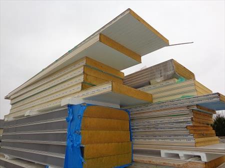 panneaux sandwich bardage pas cher isolation sous toiture garage. Black Bedroom Furniture Sets. Home Design Ideas