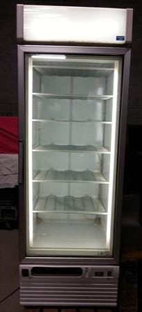 Congelateur armoire vitree