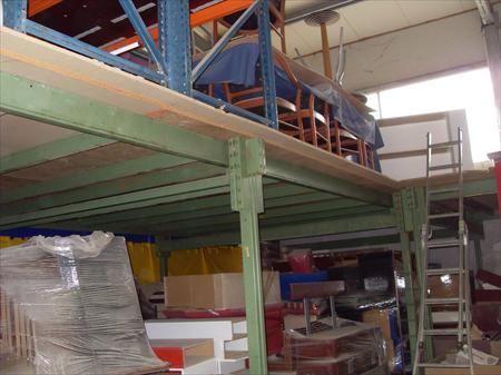 Mezzanine d'occasion pour stockage industriel