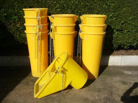 Goulottes gravats goulottes d 39 vacuation et accesssoires - Goulotte de chantier ...