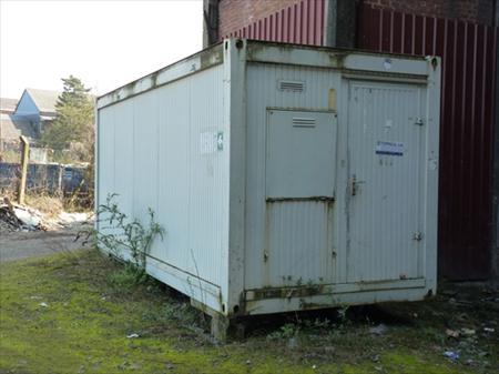 Cabine de chantier container 6000 charleroi nord pas for Prix container bruxelles