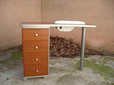 table manucure avec aspirateur incorpor beauty nails. Black Bedroom Furniture Sets. Home Design Ideas