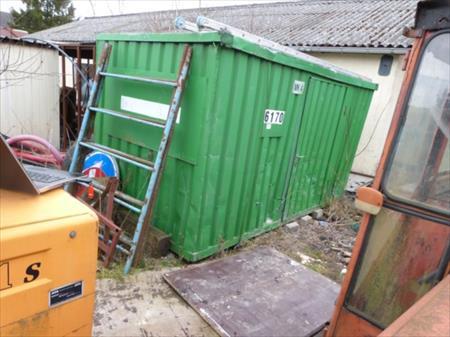 Containers de chantier containers de stockage en france for Container bois occasion