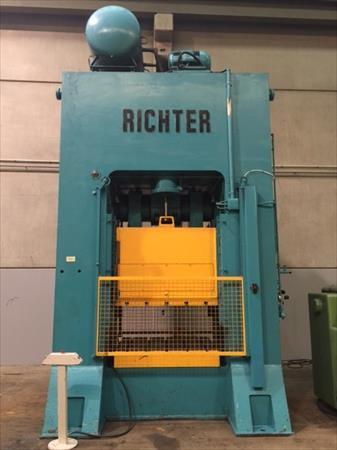 Presse m canique richter ped 400 tonnes 35000 34000 for Presse agrume professionnel occasion