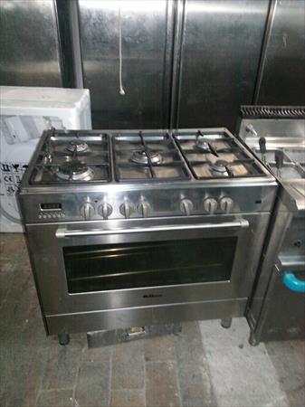 Pianos de cuisson gaz professionnel en france belgique pays bas luxembourg - Cuisiniere a gaz 5 feux ...