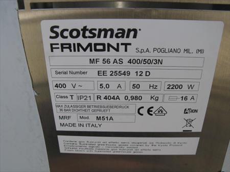machine glace scotsman mf56 as 600 kg jour 3799 01500 douvres ain rhone alpes. Black Bedroom Furniture Sets. Home Design Ideas