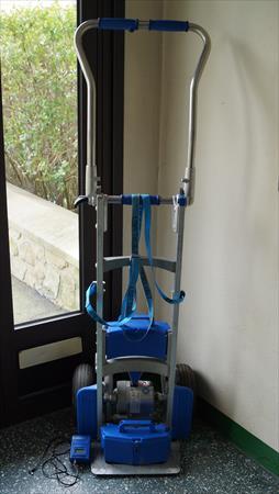 Diable monte escalier lectrique liftkar sal 140 1490 50200 coutance - Diable electrique monte escalier prix ...