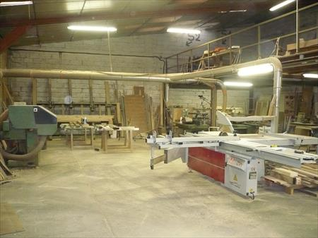 Machines stocks menuiserie miroiterie encadrement en france belgique - Atelier menuiserie a vendre ...