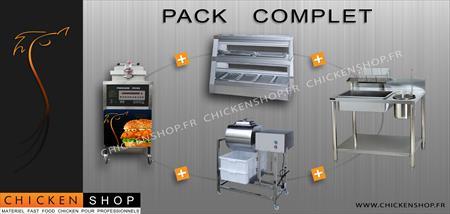 Pack complet d marrage fast food chicken kfc henny penny for Recherche materiel restauration