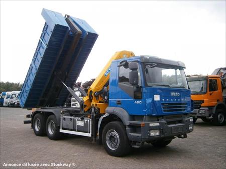 camion ptac 3 5 t benne amovible bras iveco 6x4 grue 27tm longu 68190 ensisheim. Black Bedroom Furniture Sets. Home Design Ideas