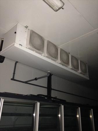 Chambres froides froid positif en france belgique pays for Cloison demontable chambre