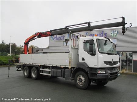 camion ptac 3 5 t plateau renault kerax 49000 ecouflant maine et loire pays de la. Black Bedroom Furniture Sets. Home Design Ideas