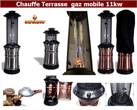 Chauffage terrasse gaz professionnel