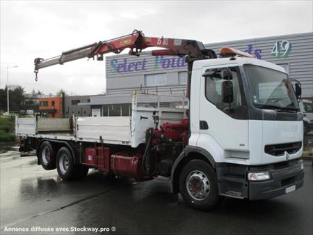 camion ptac 3 5 t plateau renault premium 49000 ecouflant maine et loire pays de la. Black Bedroom Furniture Sets. Home Design Ideas