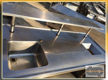 meuble inox evier tvo fonctionnel 850 30390 domazan gard languedoc roussillon. Black Bedroom Furniture Sets. Home Design Ideas